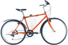 NEUBAU Orange The NEUBAU - serial production recycled bike ever (as far as we know). Crafted in Vienna by reanimated-bikes Westbahnstr. Bicycle Crafts, Mountain Bike Frames, Shops, Vienna Austria, Bicycles, Sporty, Couple, Orange, City