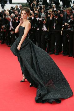 All The Best From The Cannes Red Carpets #refinery29  http://www.refinery29.com/2014/05/68261/best-dressed-cannes-2014#slide20  With a train roughly seven photographers long, Cheryl Cole's Monique Lhuillier stunner definitely made hers a walk to remember.