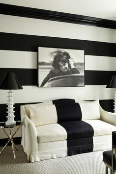 Monochromatic living rooms: a case study in style. Photography by Simon Upton…