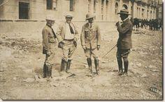 All things Mexico.Corresponsales de guerra norteamericanos en Veracruz, abril de 1914: 1.Jones, 2. Jack London, 3.Patrick, 4.Davis, Walter P. Hadsell