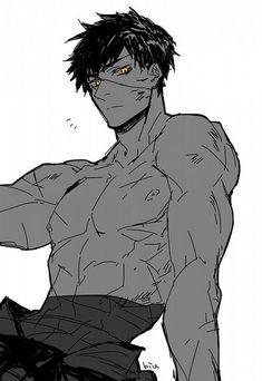 Manga Art, Anime Art, Manga Anime, Handsome Anime Guys, Cute Anime Guys, Handsome Old Man, Drawing Reference Poses, Drawing Poses, Art Drawings Beautiful