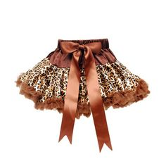 8dd04e902fc2  Overstock - Girl s Animal Print Tutu and Ribbon - Your mini fashionista is  sure to