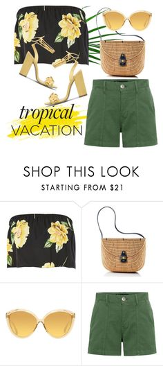 """""""Tropical Sun"""" by groove-muffin ❤ liked on Polyvore featuring Nobody's Child, Mark & Graham, Linda Farrow and 3x1"""