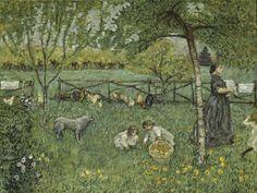 Art et glam: L'exposition : Pierre Bonnard, Peindre l'Arcadie, au musée d'Orsay
