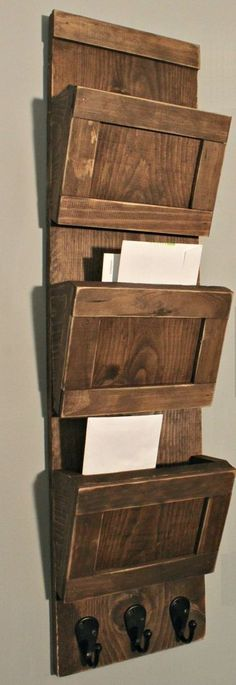 Fantastic and Easy Wooden and Rustic Home Diy Decor Ideas 8 | Diy Crafts Projects & Home Design