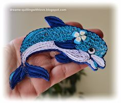 DreaMe - quilled dolphin