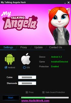Saya Talking Angela Hack