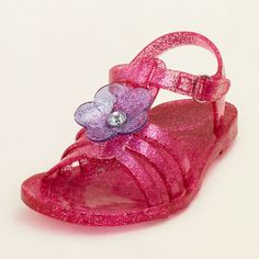 baby girl - shoes - jubilee jelly sandal | Childrens Clothing | Kids Clothes | The Childrens Place
