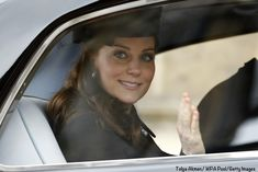 Kate in Catherine Walker for Easter Church Services - What Kate Wore