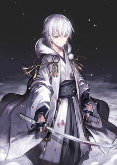 Imagem de touken ranbu and anime boy Anime Angel, Anime Boy Demon, Anime Boys, Ange Anime, Dark Anime Guys, Cool Anime Guys, Anime Warrior, Handsome Anime Guys, Cute Anime Boy