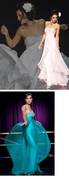 Graceful Straps Floor-Length Empire Waistline Homecoming Dresses
