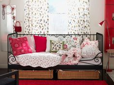 this ikea room is awfully sweet...and the colors are practically perfect in every way.