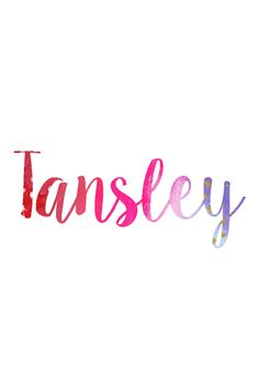 Tansley: Hipster Baby Names for Girls Cute Baby Names, Unique Baby Names, Baby Girl Names, Kid Names, New Baby Names, Southern Baby Names, Future Mom, Future Daughter, Character Names