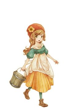 Harvest Moon: Connect to a New Land | Female Protagonist