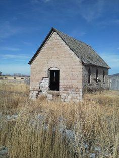 One room school house near Heise Hot Springs Idaho.