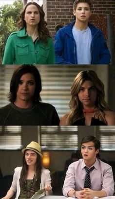 Pretty Little Liars Face Swap- i laughed way too hard at aria and ezra. @Bailey Francine Slaughter