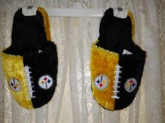 Authentic Steelers Bedroom slippers FREE SHIPPING FREE PHOTONS