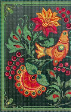 Cross Stitch Bird, Cross Stitch Borders, Cross Stitch Flowers, Cross Stitch Charts, Cross Stitch Designs, Cross Stitching, Cross Stitch Embroidery, Cross Stitch Patterns, Needlepoint Patterns