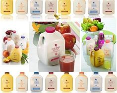 The best that nature offers to us from Forever Living Products. You treat your outside all the time.