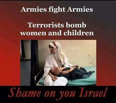 Shame On You Israhell!