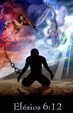 Vivendo de acordo com a vontade de Deus.: É uma guerra que não vemos.
