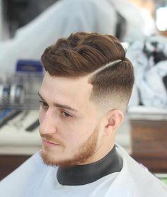 Part Haircut Fade