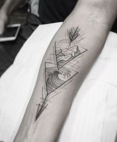 Mountain winds sound exactly like ocean waves. Mountain winds sound exactly like ocean waves. Dreieckiges Tattoos, Cancer Tattoos, Time Tattoos, Trendy Tattoos, Tattoos For Guys, Turtle Tattoos, Tattoos For Women Small, Small Tattoos, Ocean Wave Tattoo