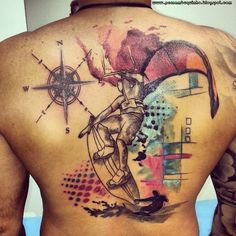 kitesurf tattoo