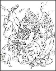 St Michael Archangel Tattoo Outline Michael Archangel Tattoo Outline St Michael Tattoo, Archangel Tattoo, Tattoo Outline, Outlines, Saints, Tattoos, Collection, Art, Art Background
