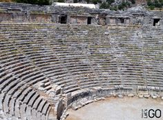 Amphitheatre in Lykia, near Kemer, Turkey