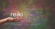 Reiki in the palm of your hand. Female hand outstretched with the word REIKI flo , Self Treatment, Formation Reiki, Was Ist Reiki, Usui Reiki, Cho Ku Rei, Fibromyalgia Causes, Reiki Courses, Reiki Therapy, Akashic Records