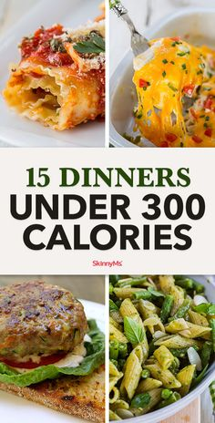Is that the dinner bell? It will be when you add these 15 dinners under 300 calories to your menu. Is that the dinner bell? It will be when you add these 15 dinners under 300 calories to your menu. 300 Calorie Dinner, Low Cal Dinner, Dinner Under 300 Calories, Low Calorie Dinners, No Calorie Foods, Low Calorie Recipes, Diet Recipes, Dinner Bell, Under 300 Calorie Meals