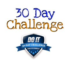 Using the 30-day challenge to overcome almost anything...
