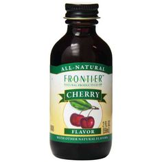 Frontier Cherry Flavor. Keto approved product
