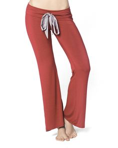 They look so comfy! The Ruched Pucker Pant by IntiMint.com, $39.98