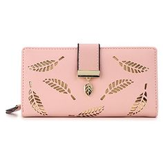 58a13d59d Henraly wallets Henraly Women Wallet Female Long Wallet Gold Hollow Leaves  Pouch Wallet For Women Bolsos