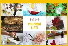 SPECIÁL- Podzimní listí - Testováno na dětech Autumn Wreaths, My Children, Outdoor Activities, Kids Crafts, Halloween, Winter, Painting, Fall Wreaths, Winter Time