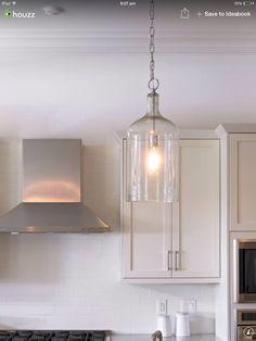 Cylinder light Kitchen Ideas, Kitchens, Ceiling Lights, Lighting, House, Home Decor, Decoration Home, Light Fixtures, Home