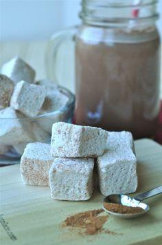 homemade cinnamon marshmallow recipe + homemade chocolate marshmallows