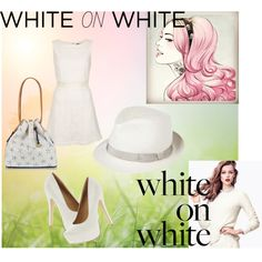 White on white by hartantinora on Polyvore