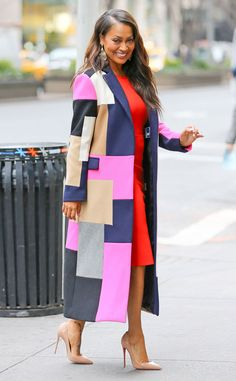LaLa Anthony from The Big Picture: Today's Hot Pics The Chi-Raq star keeps it colorful for her Today show appearance.