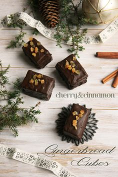 Gingerbread Cubes by cherryncinnamon.blogspot.com