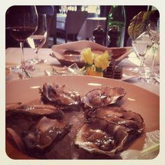 oysters @ le foubourg, berlin