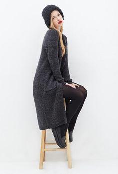 Unusual Long Sweaters Ideas