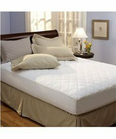Classic 100 Percent Cotton Top Mattress Pad, Size Full (70486-90) by Classic. $38.99. All-cotton mattress pad adds comfort and luxury to your mattress. Bedding features 3.75 ounces per square yard of fiber fill. Stretch Knit skirt securely fits mattresses up to 12-inches thi