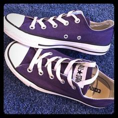 d32fb40c276530 CONVERSE Chuck Taylor All Star Dark Purple Sneaker CONVERSE Chuck Taylor  All Star Dark Purple Sneaker. Women s Size 6