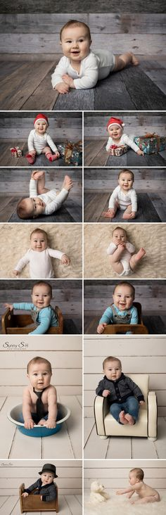 6 month old sitter stage session with Riley, Baby milestone photo shoot by Sunny S-H Photography Winnipeg