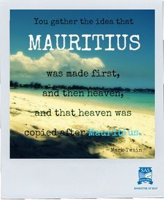 Mauritius Quote. Sure?