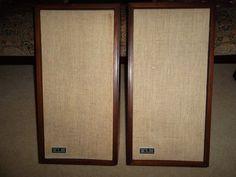 KLH Model 17 Seventeen Floor Bookshelf Speakers Restored Classics | eBay