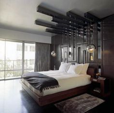 Natural Bedroom Style For Men